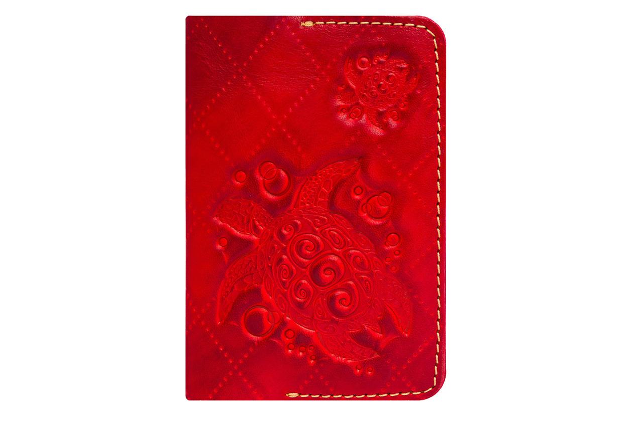 """Обложка для паспорта """"Turtle-X"""""""