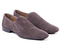 Туфли Etor 11496-7118-16530 44 серые, фото 1