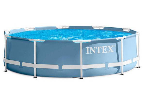 Бассейн каркасный Intex 28702 (305х76 см) с фильтр-насосом, фото 2