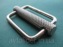 Нержавеющая пряжка с подвижной перемычкой, для плоских строп.