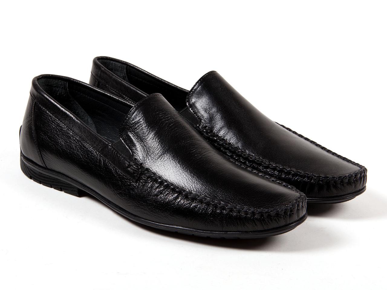 Мокасины Etor 10431-5074-1 45 черные