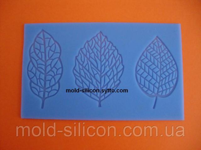 """Силиконовый коврик """"Листья 1/3"""""""