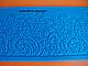 """Силиконовый коврик для гибкого айсинга """" Цветы полоса"""", фото 2"""