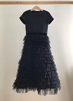 Дитяче маленьке чорне плаття -The black., фото 2