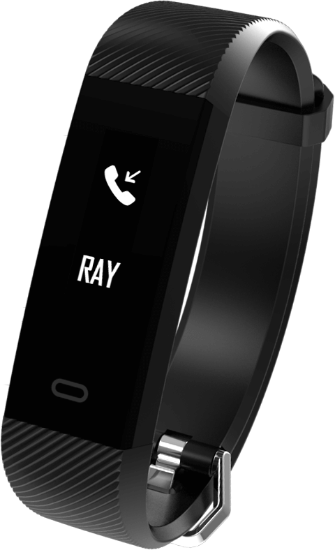 "Фитнес-браслет SUNROZ Fitpolo H705 Bluetooth Smart фитнес-трекер, 0,96"""" 50 mAh IP67 Черный (SUN0936)"
