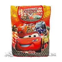 Детский рюкзак с рисунком (ТАЧКИ) 5 Цветов Красный (35x32x12 см.)