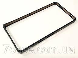 Чехол бампер металлический для Samsung Galaxy A5 a500h (2015) черный