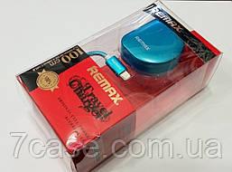 Зарядное устройство сетевое (DL) СЗУ (AAA) Remax + USB кабель iPhone 5/6 (2,1A) (HS-A003) голубой