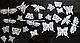 """Силіконовий килимок для гнучкого айсинга """"Мереживні метелики"""", фото 2"""