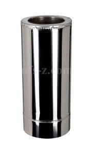 Труба сендвич для дымохода 1 м. д.120/220 мм толщина 1мм