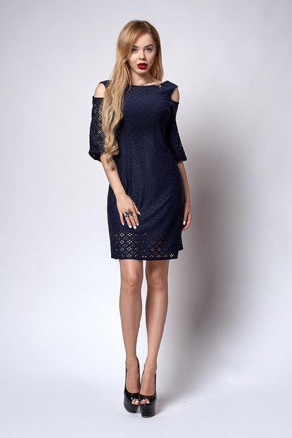 9531412d26812aa Короткое летнее платье пошва, размер,44,46,48,50,52 т. синее ...