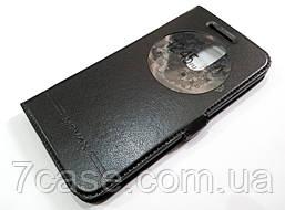 Чехол книжка с окошком Momax для LG K8 2017 x240 черный