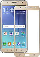 Защитное стекло TOTO 2.5D Full Cover Tempered Glass Samsung Galaxy J7 J700H/DS Gold