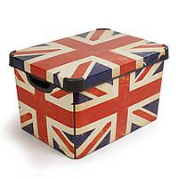 Коробка декоративная Deco's BRITISH FLAG 23л