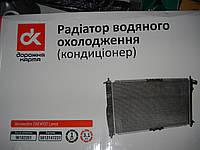 Радиатор основной на Daewoo lanos 1.5 с кондиционером