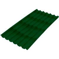 Лист битумный Ондулин Черепица 1950x950 мм зеленый