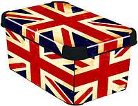 Коробка декоративная Deco's BRITISH FLAG 6л