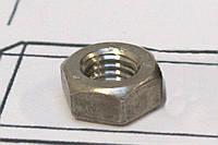 Гайка М10 ГОСТ 5916-70 низкая шестигранная DIN 936