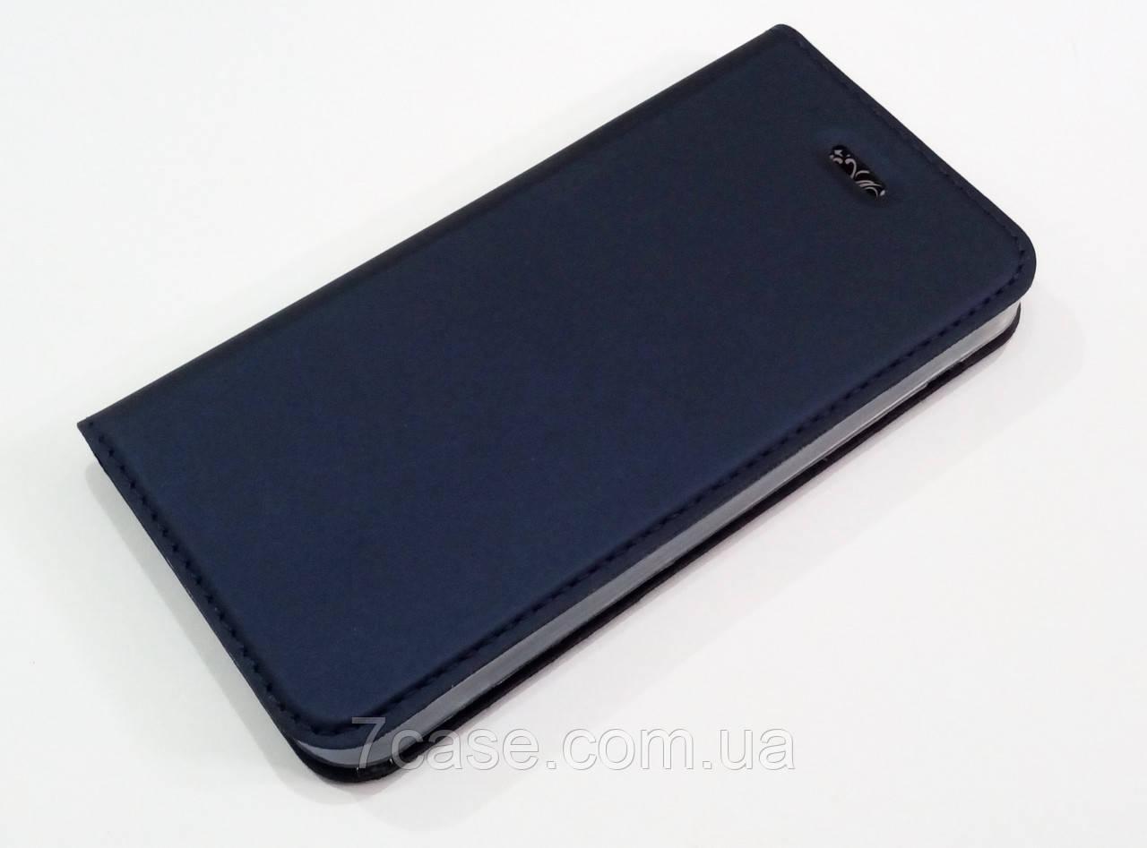 Чехол книжка KiwiS для iPhone 5 / 5s / SE синий