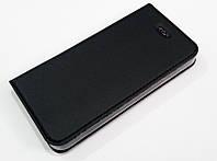Чохол книжка KiwiS для iPhone 5 / 5s / SE чорний, фото 1