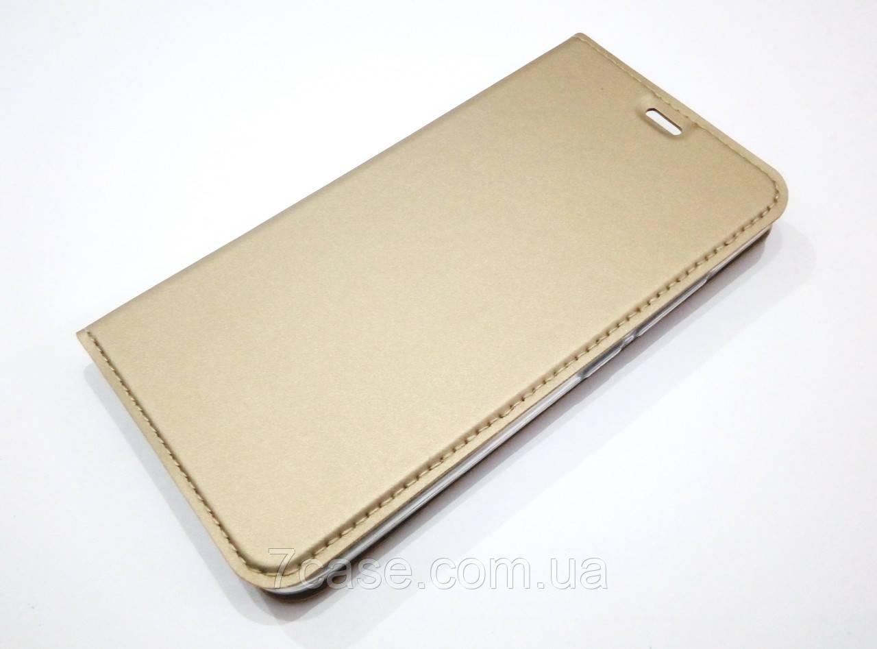 Чохол книжка KiwiS для Meizu M3 / M3s / M3 mini золотий