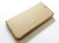 Чехол книжка KiwiS для Meizu M5s золотой, фото 1