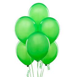 Шар латексный с гелием зеленый 25 см.