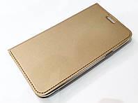 Чехол книжка KiwiS для Samsung Galaxy J7 j700 (2015) / Samsung Galaxy J7 Neo j701 золотой, фото 1