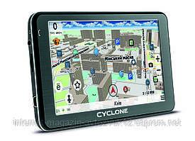 "GPS навигатор 5"" дюймов CYCLONE ND 505 AV BT"