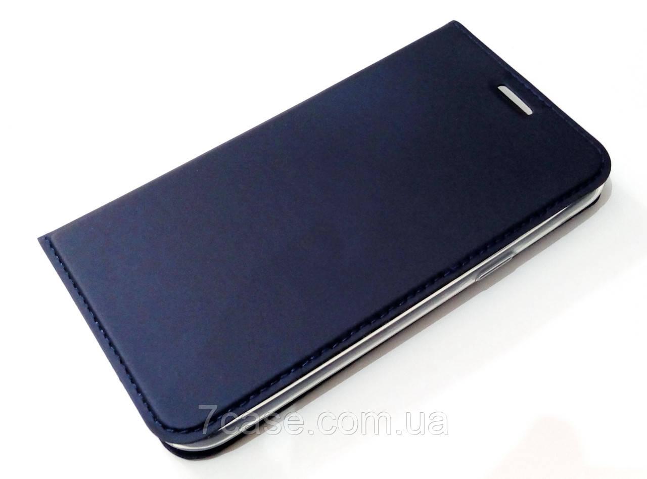 Чехол книжка KiwiS для Samsung Galaxy J5 j500h (2015) синий