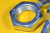 Гайка М20 низкая ГОСТ 5916-70, DIN 936 шестигранная высокопрочная
