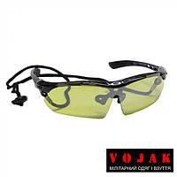 Тактические очки Oakley с желтой линзой (Окли) + шнурок