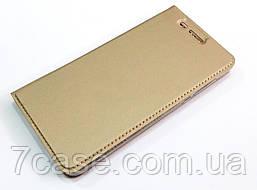 Чехол книжка KiwiS для Nokia 6 золотой