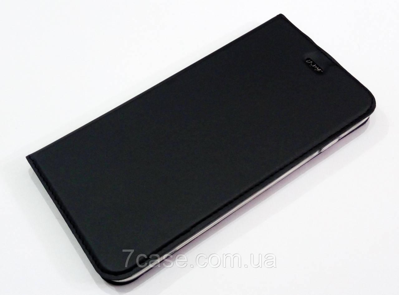 Чехол книжка KiwiS для iPhone 7 Plus черный