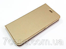 Чехол книжка KiwiS для Huawei P10 золотой