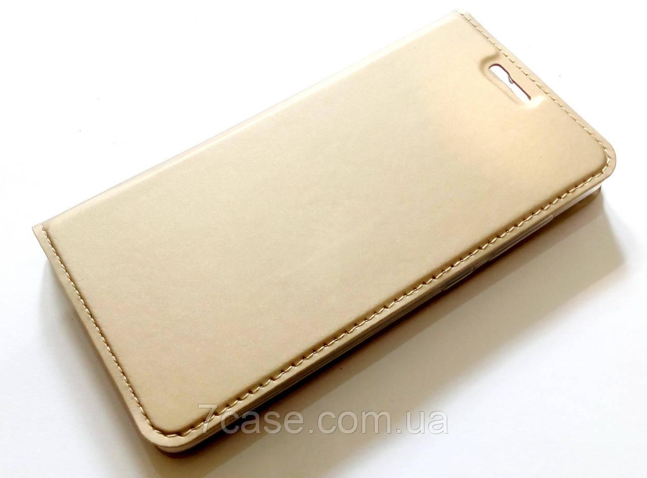 Чохол книжка KiwiS для Xiaomi Redmi 4 золотий