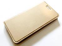 Чохол книжка KiwiS для Xiaomi Redmi 4 золотий, фото 1