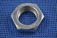 Гайки М36 высокопрочные низкие ГОСТ 5916, DIN 936 класс прочности 8.0, 10.0., фото 1