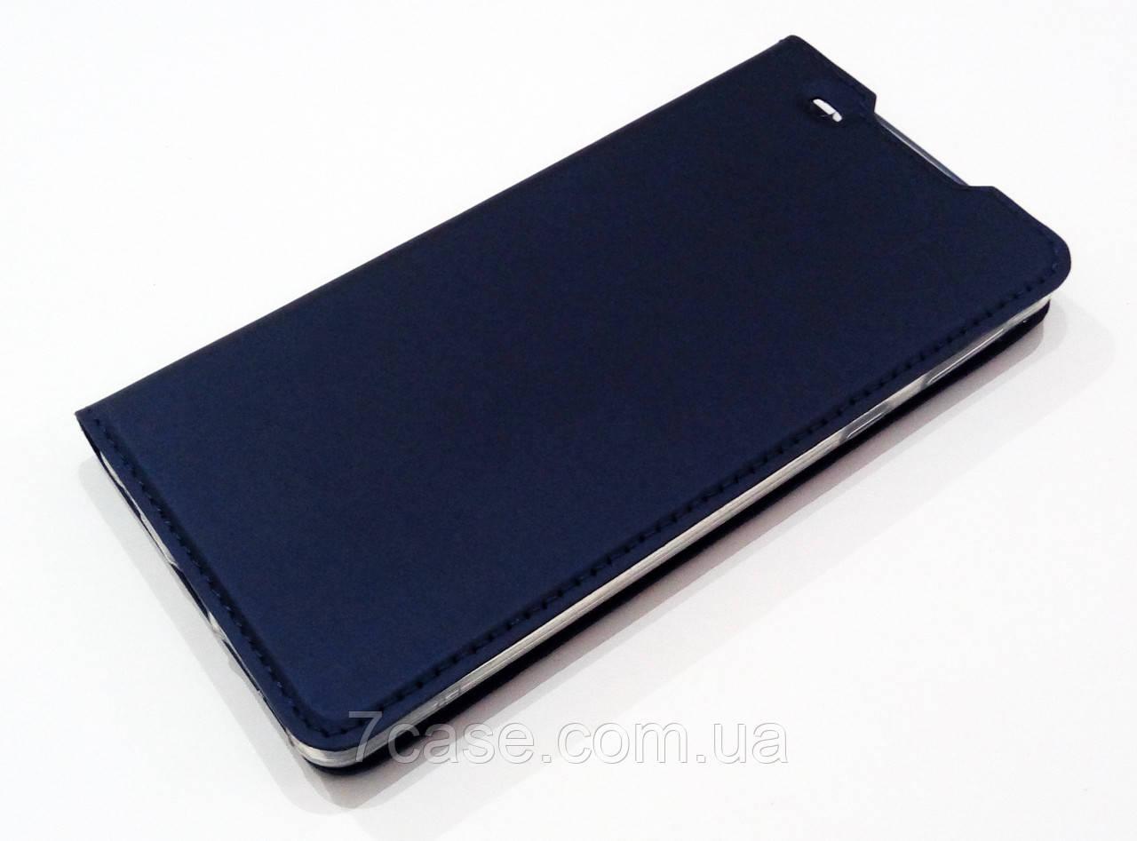 Чехол книжка KiwiS для Sony Xperia E5 f3311, f3313 синий