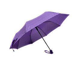 Зонт складной полуавтомат 8сп  MHZ R17746 Purple