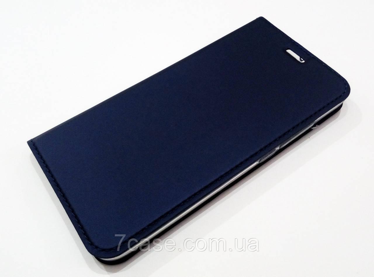 Чехол книжка KiwiS для Meizu Pro 6 синий