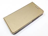 Чехол книжка KiwiS для Meizu Pro 6 Plus золотой, фото 1