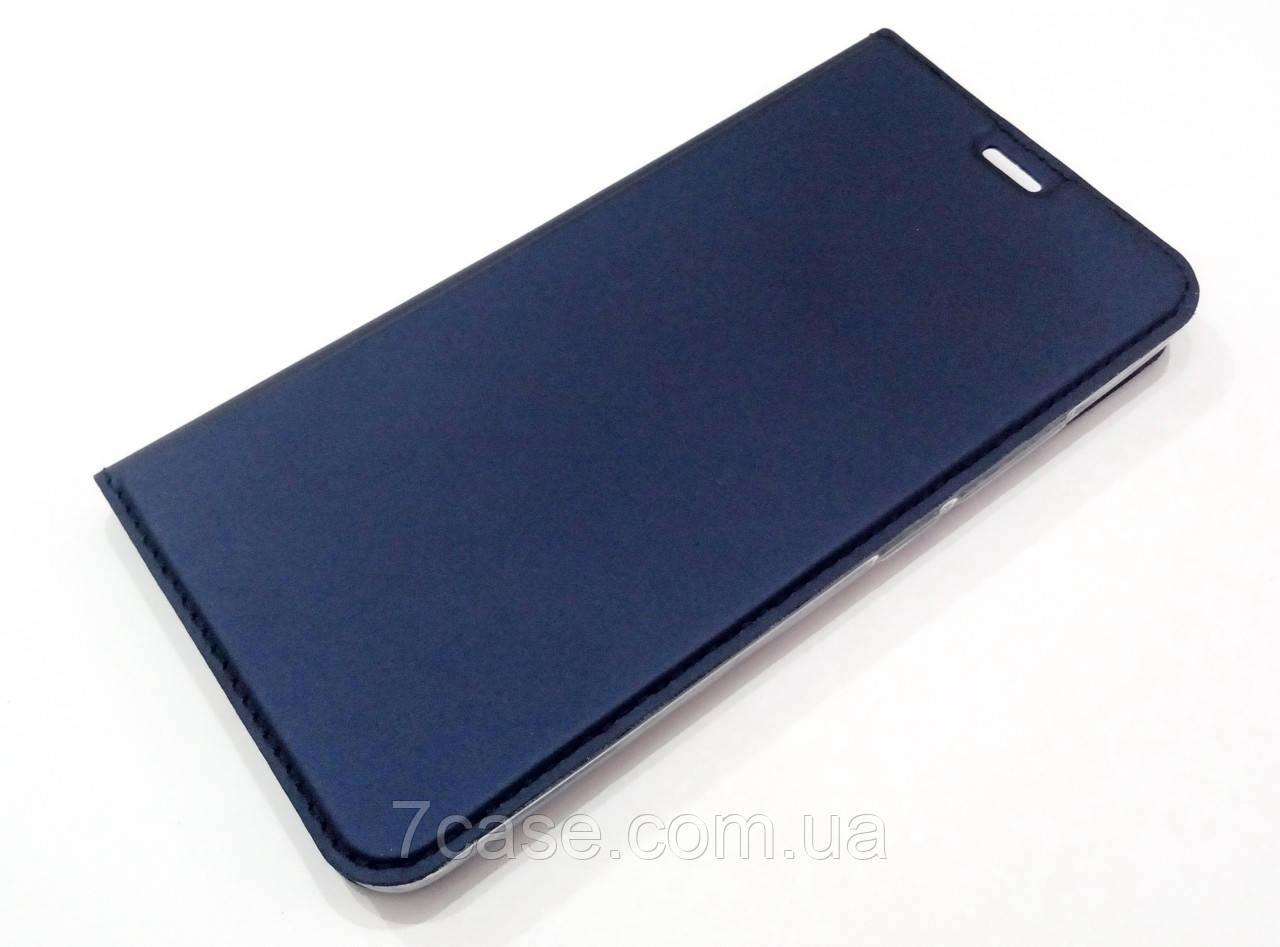 Чехол книжка KiwiS для Meizu M3e синий