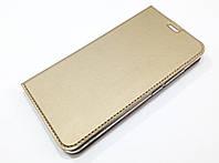 Чехол книжка KiwiS для Meizu M3 Note золотой, фото 1