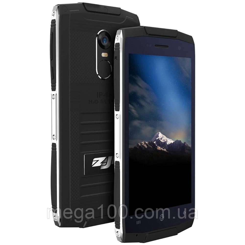 """Смартфон противоударный HOMTOM ZOJI Z6 черный (экран 4.7"""", памяти 1/8, аккумулятор 3000 мАч)"""