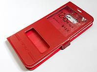 Чохол книжка Momax з віконцями для Samsung Galaxy S8 Plus G955 червоний
