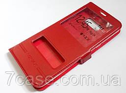 Чехол книжка Momax с окошками для Samsung Galaxy S8 Plus G955 красный