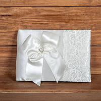 Свадебная книга пожеланий цвета айвори (арт. BW-2)