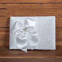 Свадебная книга пожеланий белая (арт. BW-1)