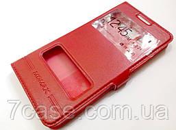 Книжка с окошками momax для Samsung Galaxy A5 a500h (2015) красный